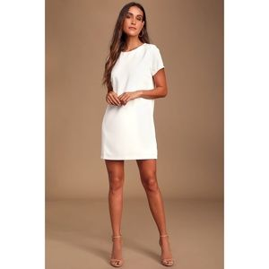 Lulus shift and shout dress *New with tags* Medium